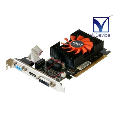 Palit Microsystems GeForce GT 640 1GB D-Sub/DVI/HDMI PCI Express 2.0 x16 NE5T6400HD06-2081F【中古】