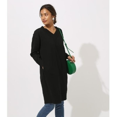 VNECK KNIT ONEPIECE/アズールバイマウジー