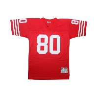 MITCHELL&NESS REPLICA THROWBACK JERSEY (San Francisco 49ers 1990/Jerry Rice: Red)ミッチェル&ネス/スローバックジャージ...