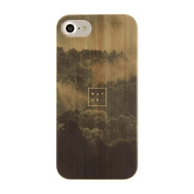 KIBACOWORKS [iPhone 8/7/6s/6専用]kibaco BAMBOO RUBBER CASE 663-102616 WAY UP
