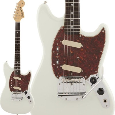 Fender 《フェンダー》(Made in Japan Traditional)Traditional 60s Mustang (Olympic White) 【あす楽対応】【oskpu】