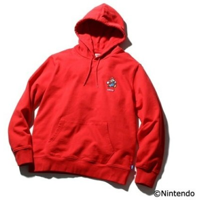 【SALE/30%OFF】Levi's グラフィックプルオーバーフーディ MARIO LC PATCH HOODIE RED リーバイス カットソー スウェット【送料無料】
