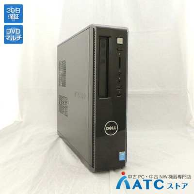 【中古デスクトップパソコン】DELL/Vostro 3800/Core i5-4460 3.2GHz/HDD 500GB/メモリ 4GB/Windows 8.1 Professional 64bit...