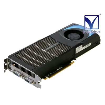 ELSA GeForce GTX 480 1536MB DVI-I *2/mini-HDMI PCI Express 2.0 x16 GD480-15GEBX【中古】