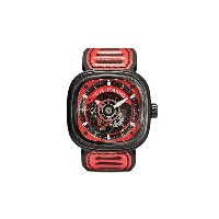 SEVENFRIDAY SF-P3 47mm 腕時計 - Black and red