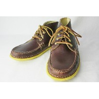 New England Outerwear Company(ニューイングランド・アウターウェア)QUATER BOOT CREPE(COLOR : Burgundy Chromexel)...