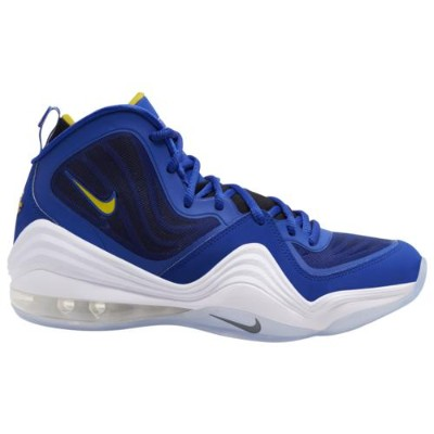 (取寄)ナイキ メンズ エア ペニー 5 Nike Men's Air Penny V Bright Blue Yellow Streak White White