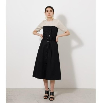 2WAY TRENCH BARE ONEPIECE/アズールバイマウジー