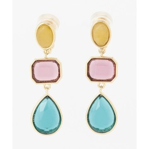 TOCCA FLOWER COLOR EARRINGS イヤリング