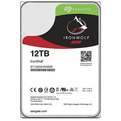 SEAGATE シーゲート 内蔵HDD IronWolf ST12000VN0008【バルク品】