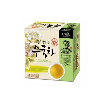 韓国のアジサイの甘い露茶1.2g x 40ティーバッグ Ssanggye Tea Korean Hydrangea Sweet Dew Tea 1.2g X 40 Tea Bags