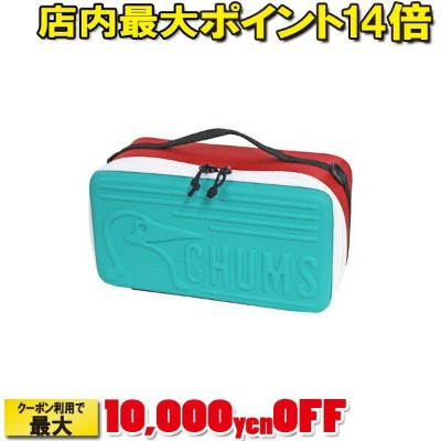 (CHUMS)チャムス Booby Multi Hard Case M (Teal Red)