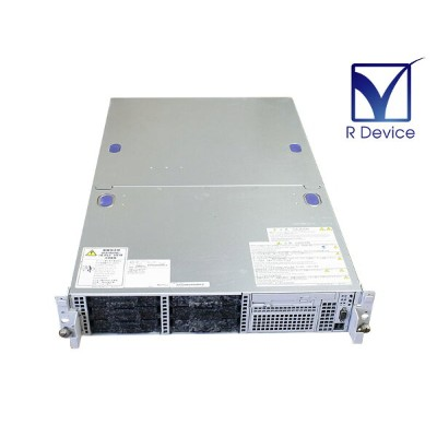 Express5800/120Rh-2 N8100-1061 NEC Xeon 3.2GHz x2/1GB/HDD非搭載/CD-ROM/PSUx2/フロントパネル欠品【中古】