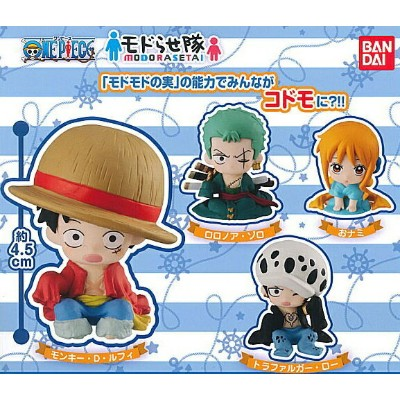 from TV animation ONE PIECE モドらせ隊 【全4種セット】