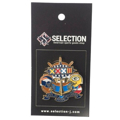 NFL パッカーズ / ブロンコス 第32回スーパーボウル Matchup Game Pin IMPRINTED PRODUCTS