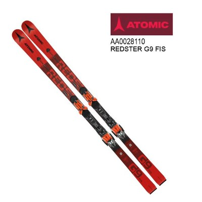 2021 ATOMIC REDSTER G9 FIS Red アトミック レッドスター レーシング 板のみ 20/21