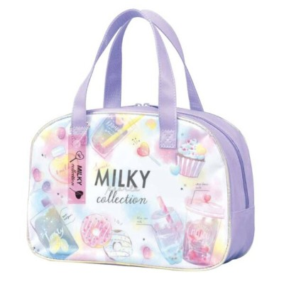 MILKY COLLECTIONグッズ ボストン型クリアバッグ サマーアイテム 222921