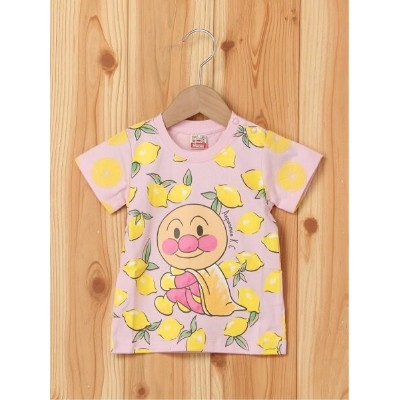 【SALE/30%OFF】ANPANMAN KIDS COLLECTION (K)フルーツTシャツ アンパンマンキッズコレクション カットソー キッズカットソー ピンク