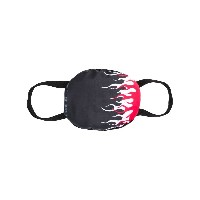 Vision Of Super double flame face mask - ブラック
