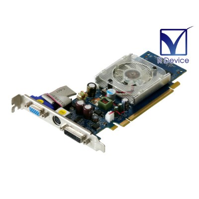 BUFFALO GeForce 8400 GS 256MB D-Sub/TV-out/DVI-I PCI Express 2.0 x16 GX-84GS/E256【中古ビデオカード】