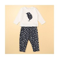 COMME CA ISM (Baby & Kids)/コムサイズム (ベビー&キッズ)  長袖Tシャツとロングパンツが入ったギフトセット(80・90サイズ)(2383WN04) 09【三越伊勢丹...