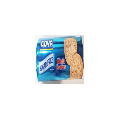 Goya Sugar Free Maria cookies. 7 oz. (Pack of 4)