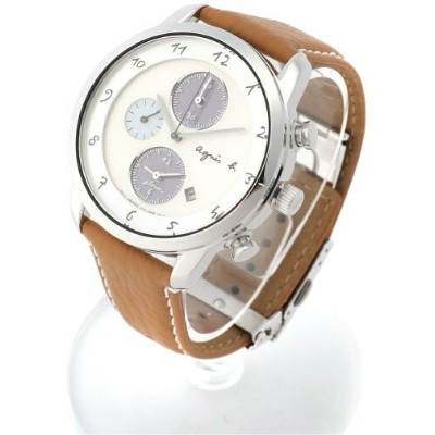 HOMME HOMME/(M)LM02 WATCH FBRD973 時計 アニエスベー ファッショングッズ 腕時計 ブラウン【送料無料】