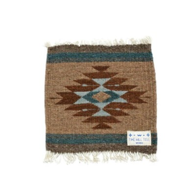 TIME WILL TELL WORKS【タイム ウィル テル ワークス】ZAPOTEC RUG MAT SMALL(TYPE-B)