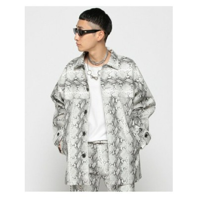 [Rakuten Fashion]【SALE/60%OFF】VAPORIZE / Fake Leather Half Coat BEAMS MEN ビームス メン コート/ジャケット ブルゾン...