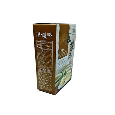 Mong Lee Shang Traditional Taiwanese Pineapple Cake 8.8 Oz Pack of 10