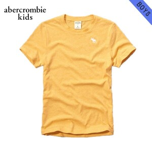 【15%OFFセール 5/25 10:00~5/30 23:59】 アバクロキッズ AbercrombieKids 正規品 子供服 ボーイズ 半袖Tシャツ con crew tee 224-663...