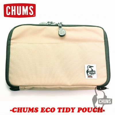 CHUMS チャムスEco Tidy Pouchエコタイディポーチ