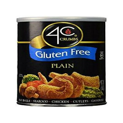 4C, Crumbs, Gluten Free, 12oz Container (Pack of 3) (Choose Style) (Plain)