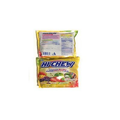 HI-Chew Fruit Chews. (2 pack) - Mango, Grape, Green Apple, Strawberry 12.7 oz packs.
