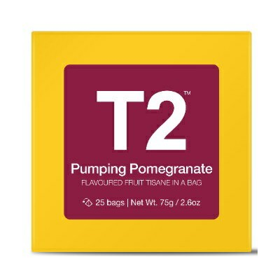 T2 ザクロティー Pumping Pomegranate 75g (3g×25P)