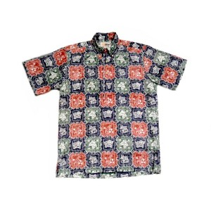 【期間限定30%OFF!】REYN SPOONER(レインスプーナー)GOLD LABEL/#126 PULLOVER B.D. HAWAIIAN SHIRTS/LAHAINA SAILOR...