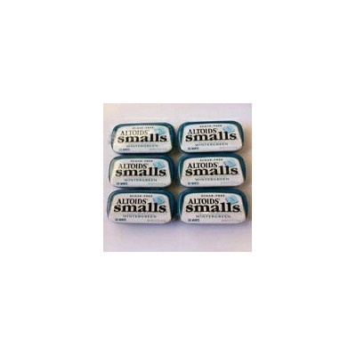 Tj8 Altoids Smalls Wintergreen Sugar Free - 9 Pack of .37 Oz (50 Mints)