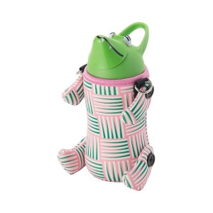 THERMO MUG ALF Animal Bottle○5155ALF Weave pink/green お弁当箱・水筒