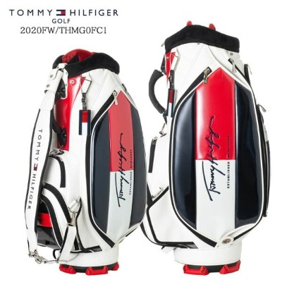 2020FW/TOMMY_HILFIGER/トミーヒルフィガー/THMG0FC1/SPORTY_PRO_TYPE_CADDIE_BAG/スポーティプロタイプキャディバッグ/カート/9...