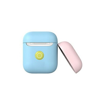 SWITCHEASY AirPods(エアーポッズ)Colors for AirPods 2nd Wireless (Baby Blue) SE_A2WCSSCA2_BL Baby Blue...