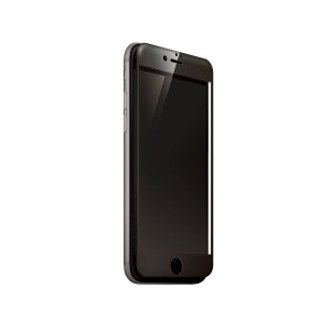 Deff Hybrid 3D Glass Screen Protector for iPhone 8 Plus / 7 Plus○DGIP7PA2DF ブラック パソコン・モバイル雑貨