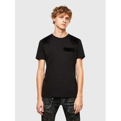 DIESEL T-IEGO-A ディーゼル カットソー Tシャツ【送料無料】