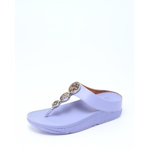 fitflop HALO FLOWERCRUSH○R06665 Frosted lavender コンフォート