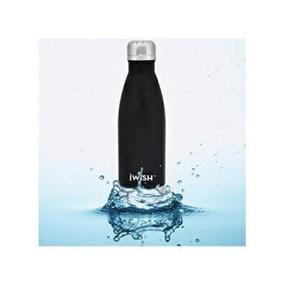 iwish Cola Shaped Insulated Water Bottle, Spill P