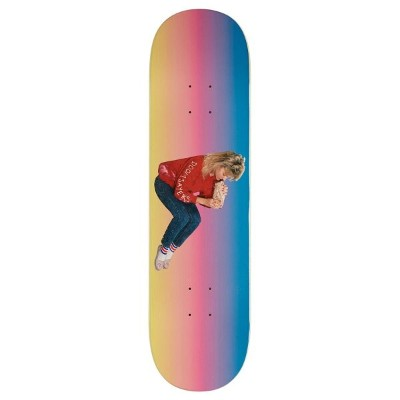 残りわずか! DOOM SAYERS (ドゥームセイヤーズ) Becky Float Rainbow Skateboard Deck 8.25 DOOMSAYERS CLUB スケートボード...