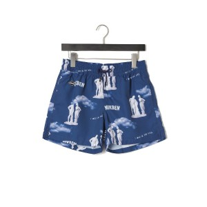 【79%OFF】I WAS IN THE POOL スイムパンツ デニムブルー s