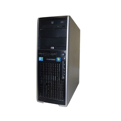 外観難あり Windows7 Pro 64bit HP WorkStation XW4600 RV724AV Core2Duo E8400 3.0GHz 8GB 250GB (SATA) DVD...