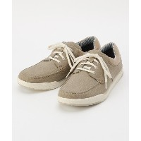 【OFF PRICE STORE(Fashion Goods)(オフプライスストア(ファッショングッズ))】 ◆Clarks Step lsle Lace ベージュキャンバスシューズ OUTLET ...