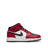 Nike Kids Air Jordan 1 Mid GS スニーカー - レッド