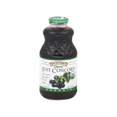 Knudsen juices-Just Grape Concord(95% Organic), 32-Ounce (Pack of 6)